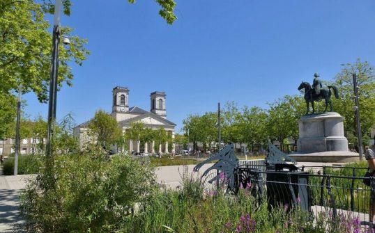 Photo d'un espace vert à La-Roche-sur-Yon